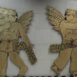 Athens subway station, June 2012