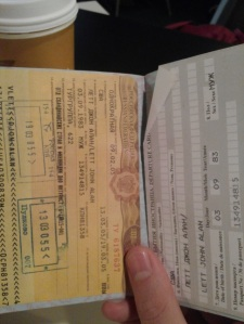This Russian tourist visa had probably the strictest terms of any visa I worked with.