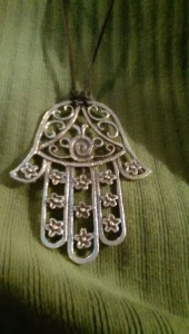 "My own ""hamsa,"" purchased in Istanbul, May 2012."