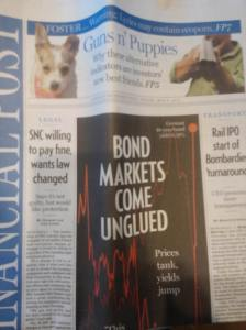 From the cover of National Post/Financial Post cover May 8, 2015.